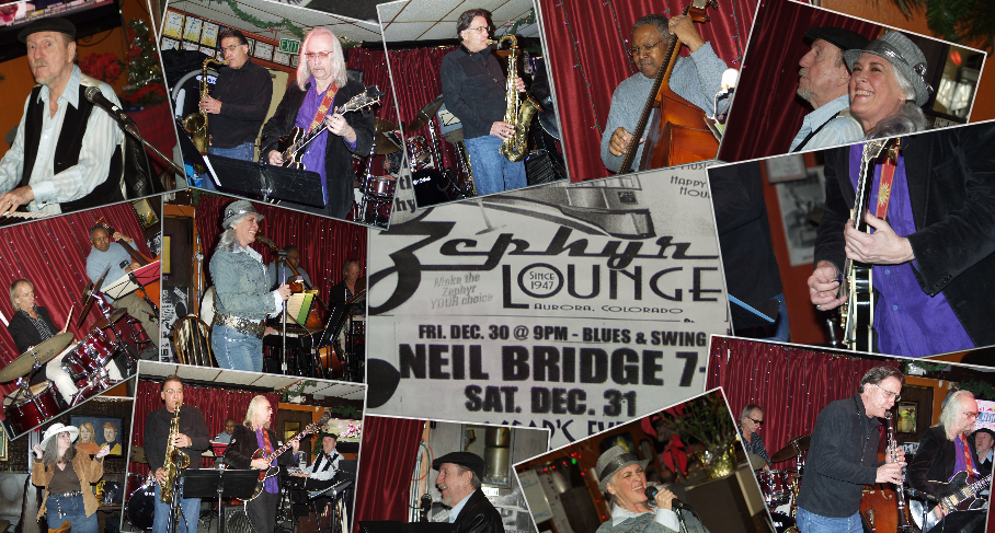 Zephyr Lounge December 30th – Neil Bridge's Quintessence