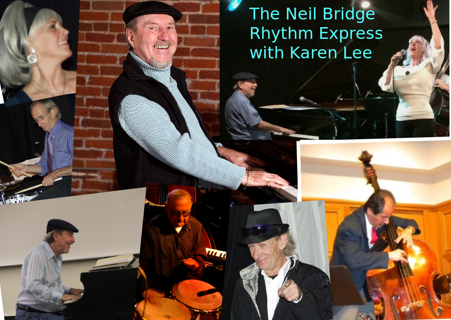 The Neil Bridge Rhythm Express w Karen Lee at Dazzle September 4th