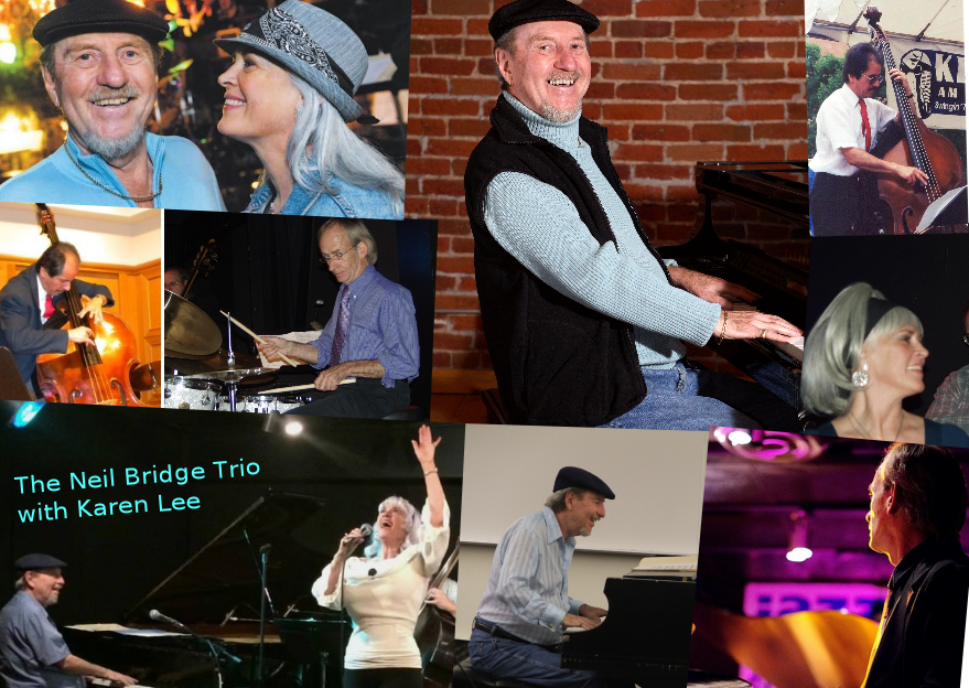 The Neil Bridge Trio with Karen Lee – Senior Luncheon Dazzle Thursday July 21st